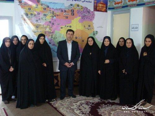 بازديد از موسسه خيريه آبشار عاطفه هاي استان گلستان