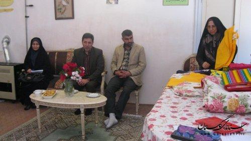 بازدیداز انجمن حمایت از کودکان ونوجوانان استثنایی استان گلستان
