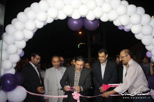 افتتاح نمایشگاه پیوند آسمانی درگرگان