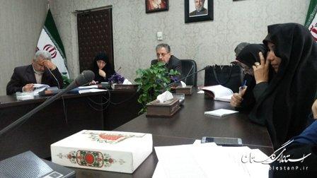 نشست توجهی با معاونین و کارشناسان اجتماعی فرمانداریهای استان