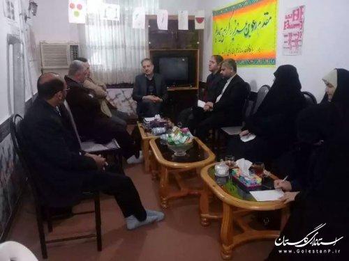 بازدید مدیر کل امور اجتماعی و فرهنگی استانداری از مناطق حاشیه نشین شهر