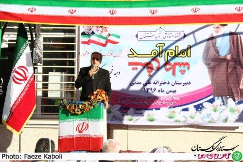 دانش آموزان نقش موثری در پیروزی انقلاب اسلامی داشته و اینک نیز از حافظان اصلی دستاوردهای آن دارند