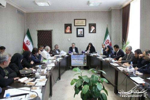 نخستین جلسه ستاد هماهنگی شهرها و روستاهای دوستدار کتاب استان گلستان برگزار شد