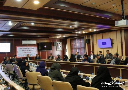 برگزاری نشست آموزشی ازدواج برای کارشناسان حوزه ی اجتماعی فرمانداریهای تابعه استان