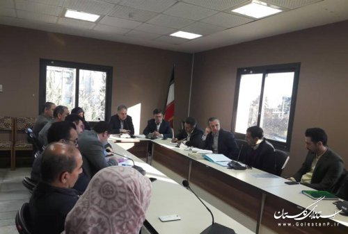 برگزاری اولین جلسه شورای توسعه و حمایت سازمان های مردم نهاد استان گلستان