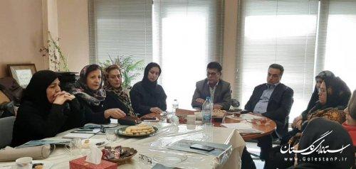 حضور مدیرکل اموراجتماعی و فرهنگی در جلسه هیات مدیره انجمن زنان کارآفرین