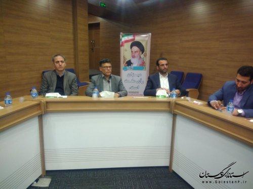 نشست صمیمی با حضور سازمان های مردم نهاد وبرخی مدیران استان گلستان