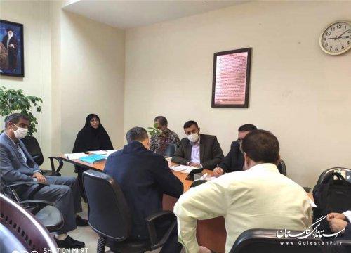برگزاری جلسه نظارت براجرای تفاهم نامه ها با موضوع کاهش آسیب های اجتماعی