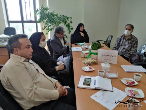 جلسه همفکری توسعه و توانمندسازی سازمان های مردم نهاد استان