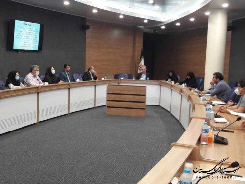 اولین جلسه کمیته بیماران خاص استان برگزار گرديد