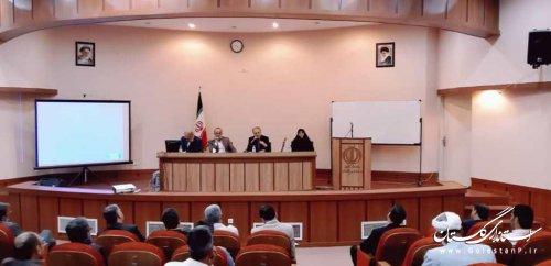جلسه آموزشی بخشداران،دهیاران استان با محوریت شناخت مسائل فرهنگی و اجتماعی