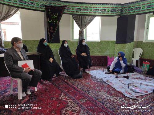 برگزاری طرح توانمند سازی زنان سرپرست خانوار استان در محلات هدف