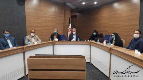 اولین جلسه کارگروه ارتقا وضعیت اجتماعی،فرهنگی و سلامت مناطق حاشیه نشین برگزار شد.