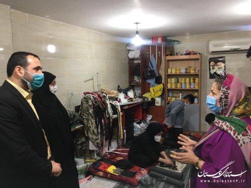بازدیدخاندوزی مدیرکل امور اجتماعی و فرهنگی از دفتر تسهیلگری اوزینه و چناران گرگان