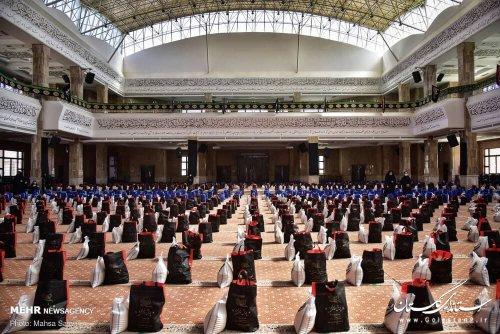 به همت سازمانهای مردم نهاد استان (پویش همدلی محرم )تهیه ۱۰ هزار بسته معیشتی برای نیازمندان