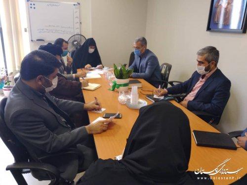 دومين جلسه هم انديشي و برنامه ريزي به مناسبت فرا رسيدن يوم الله ١٣آبان با حضور نمايندگان كارگروه هاي  عضو ستاد