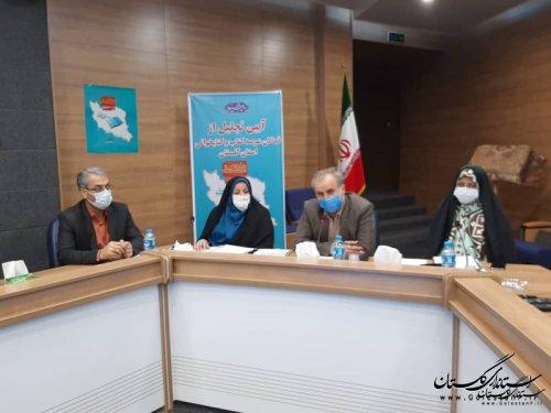 آیین تجلیل از فعالان عرصه کتاب و کتابخوانی استان برگزار گردید.