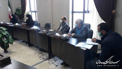 برگزاری اولین جلسه هماهنگی مجمع  مشارکتهای مردمی مبارزه با کرونا
