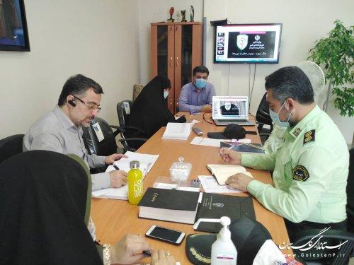 نشست مشترک مدیرکل امور اجتماعی وفرهنگی با معاونت فتا نیروی انتظامی استان